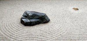In Kyoto Zen Garden